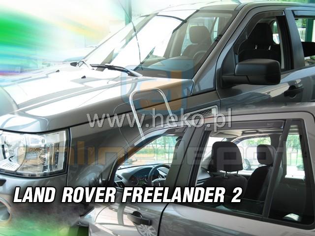 Windabweiser-LAND-ROVER-FREELANDER-2-II-5-tuerer-2006-heute-4-tlg-Regenabweiser