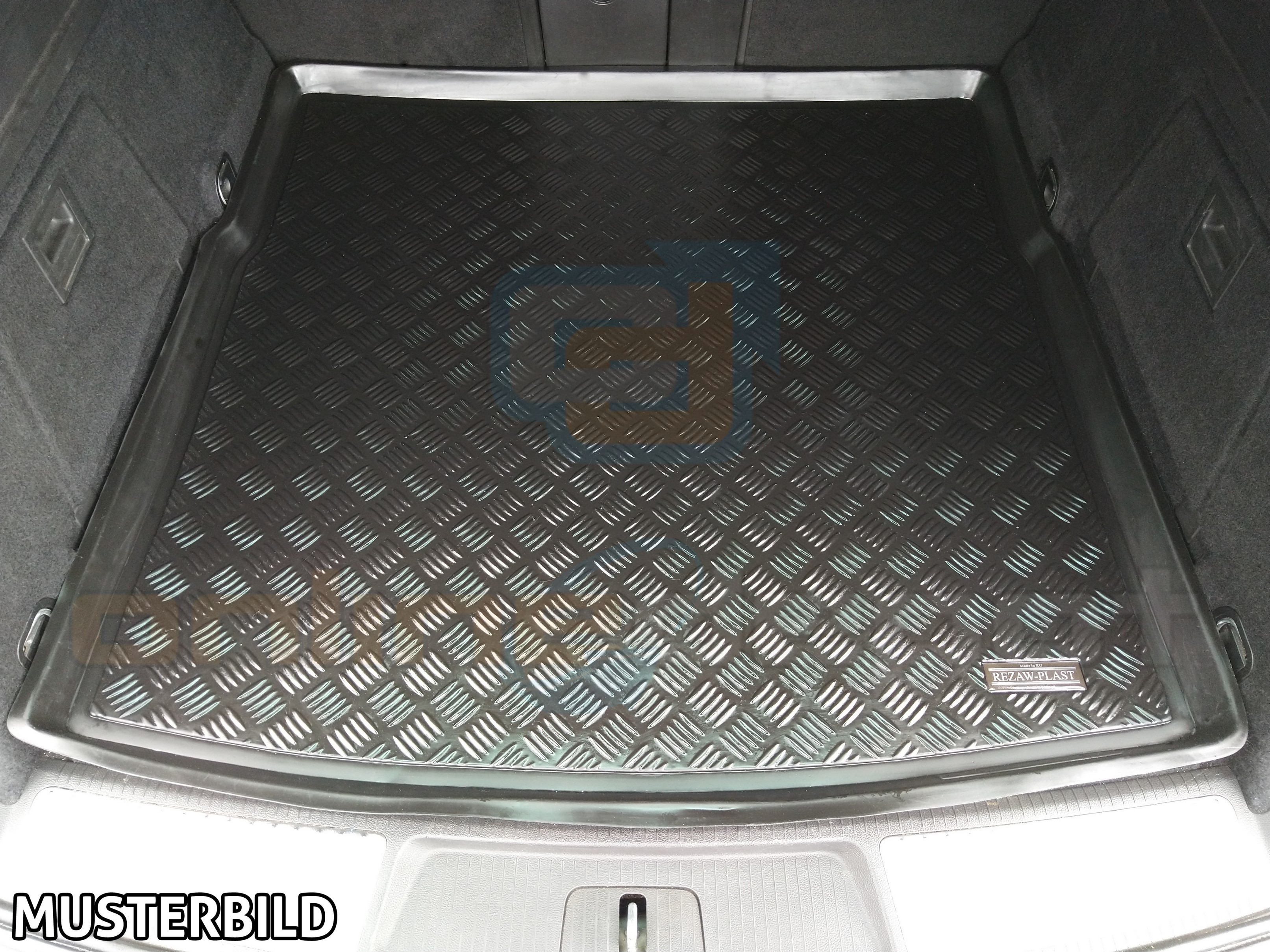 Gummi-Fußmatten+Kofferraumwanne OPEL SIGNUM 2003-2008